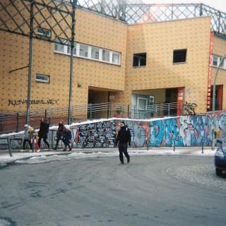 Flüchtlingswohnheim Strallschreiber Straße im Statthaus Böcklerpark