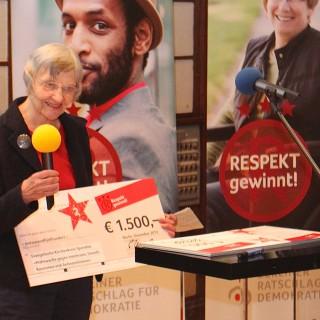 Gewinner des 2. Preises beim Projektwettbewerb: Respekt gewinnt, 2013