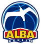 Logo des Basketball-Clubs Alba Berlin