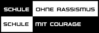 Logo des Vereins Schule ohne Rassismus – Schule mit Courage