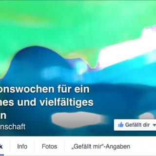 Titelbild der Facebook Seite der Aktionswochen