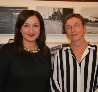 Dilekt Kolat eröffnet die Ausstellung: Berliner Tatorte