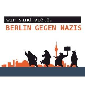"Logo Bild der Initiative ""Berlin gegen Nazis"