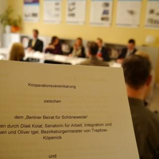 Die Kooperationsvereinbarung