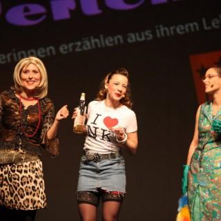 Die Rixdorfer Perlen unterstützen den Respekt-gewinnt-Wettbewerb mit ihrem künstlerischen Beitrag.