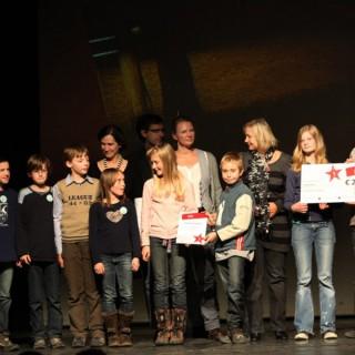 "Respekt-gewinnt-Preisverleihung 2010, 1. Preis Löcknitz-Grundschule ""Denk-mal an jüdische Mitbürger"""
