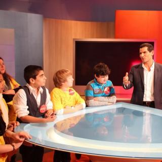 """Preisträger-Kinder Projekt """"""""BEIspielhaft"""" 2011 im Gespräch mit Mitri Sirin"""