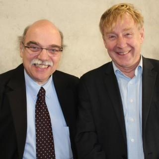 Prof. Dr. Nachama, Mitglied des Berliner Ratschlag für Demokratie mit dem Berliner Integrationsbeauftragen Günther Piening, 2011