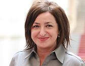 Dilek Kolat, Senatorin für Arbeit, Integration und Frauen, MdA seit 2001, Mitglied des Berliner Ratschlag für Demokratie (Dipl. Wirtschaftsmathematikerin)