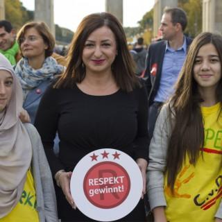 Die Senatorin für Arbeit, Integration und Frauen steht dahinter: Respekt gewinnt!