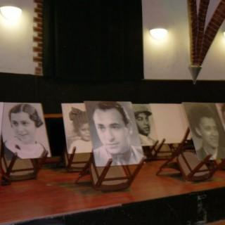 """Porträts in der Ausstellung """"Vergessene Biografien"""" im DTK-Wasserturm, 2013"""