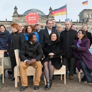 Ratschlagsmitglieder und Beteiligte von Cucula.  Foto: Alexander Blumhoff