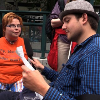 Der Jugendliche Chris Herfort im Interview mit Nina