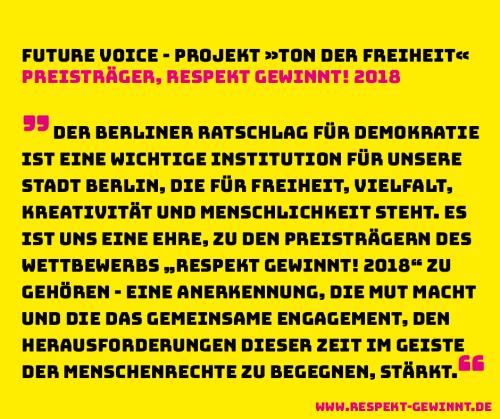 Future Voice Facebook mit URL