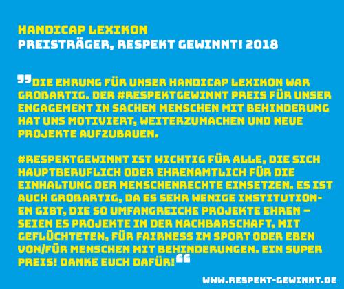 Handicap-Lexikon RG Facebook