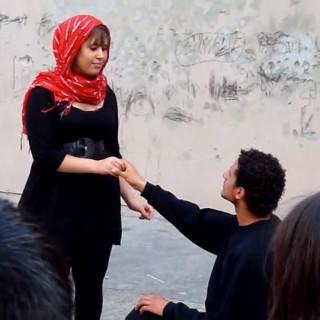 Die Falafels – ein palästinensisch-israelisch-deutsches Straßentheater