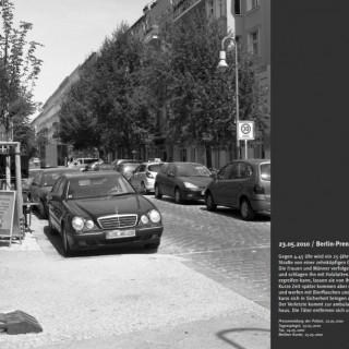 "Angriff auf Fotoausstellung ""Berliner Tatorte"" im Rathaus Tempelhof"