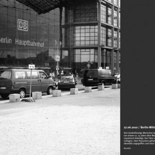 """Ausstellung """"Berliner Tatorte"""" in der Stiftung Topographie des Terrors"""
