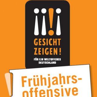 """Frühjahrsoffensive – Veranstaltungsreihe des Vereins """"Gesicht zeigen!"""""""