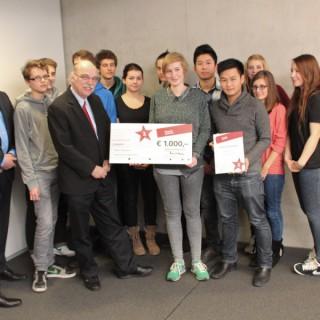"""""""Respekt gewinnt!"""" Preisverleihung 2012 bei Topographie des Terrors für das Dathe-Gymnasium und ihr Projekt »Rassismus ist Geschichte?«"""