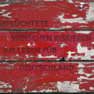 Geflüchtete Menschen riskieren ihr Leben für Deutschland