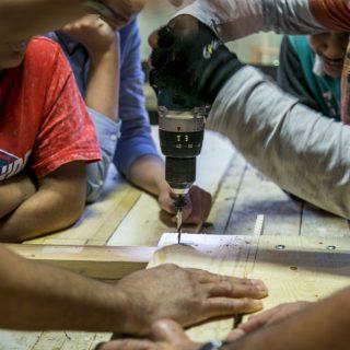 Offene Holzwerkstatt HolzOMA – ein Projekt der OMA gGmbH zur Förderung der Inklusion